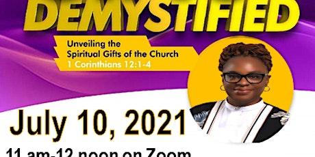 Spiritual Gifts Demystified tickets