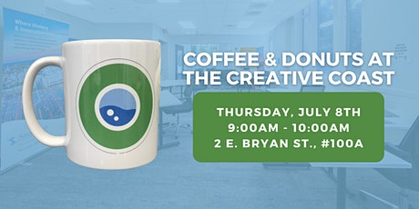 July Coffee & Donuts at The Creative Coast tickets