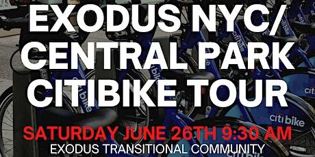 EXODUS CITIBIKE CENTRAL PARK RIDE tickets