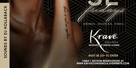 Finesse Fridays at Krave Lounge tickets