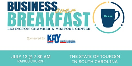 Business Over Breakfast: The State of Tourism in SC tickets