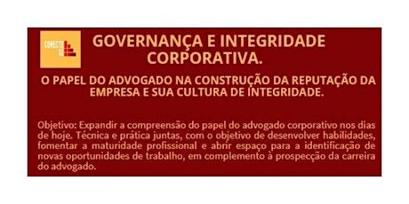 CURSO: INTEGRIDADE E GOVERNANÇA CORPORATIVA. boletos