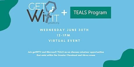 getWITit + Microsoft TEALS: Volunteer Information Session tickets
