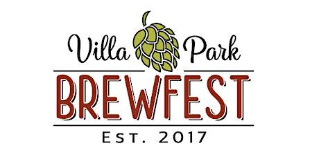 Villa Park Brewfest 2021 tickets