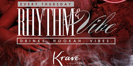 Rhythm and Vibes at Krave Lounge tickets