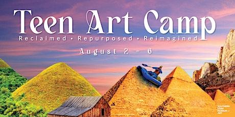 Teen Art Camp: Reclaimed, Repurposed, Reimagined tickets