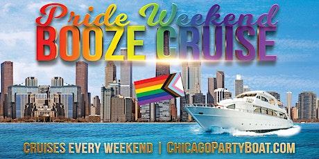Pride Weekend Booze Cruise tickets