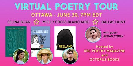 Virtual Poetry Tour - Ottawa tickets