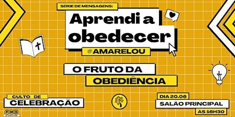 CELEBRAÇÃO CARVALHO 20.06 ÀS 16H30 NO SALÃO PRINCIPAL ingressos