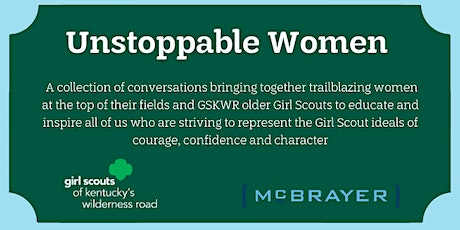 Unstoppable Women: Featuring Pat Haight + Catherine Prather tickets