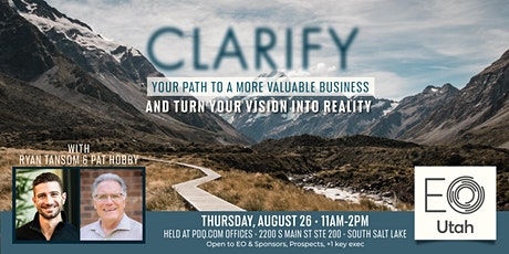 Clarify Your Path w/Ryan Tansom & Pat Hobby tickets