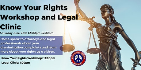 AADM Know Your Rights Workshop and Legal Clinic tickets