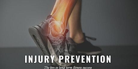 Injury Prevention Seminar tickets