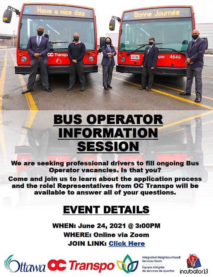 OC Transpo Bus Operator Recruitment Session image