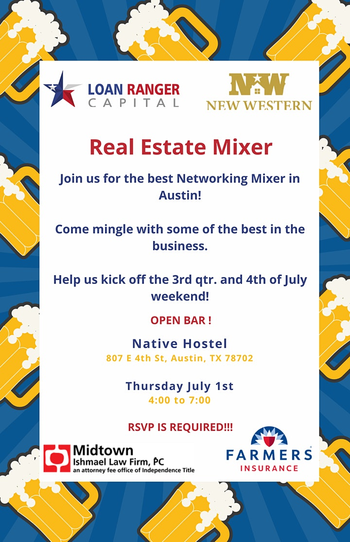 Real Estate Mixer - Austin image
