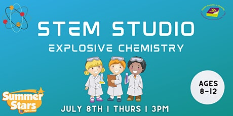 Summer Stars : STEM Studio Explosive Chemistry (Outdoors) tickets
