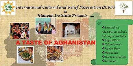 Taste of Afghanistan tickets