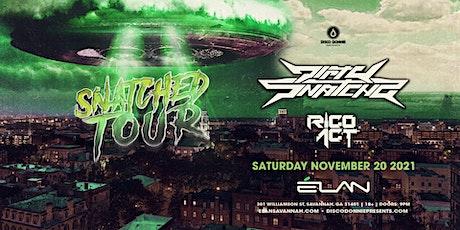 DirtySnatcha X Rico Act at Elan Savannah (Sat, Nov 20th) tickets