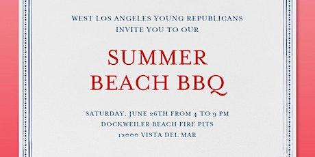 West LA Young Republicans Summer Beach BBQ tickets