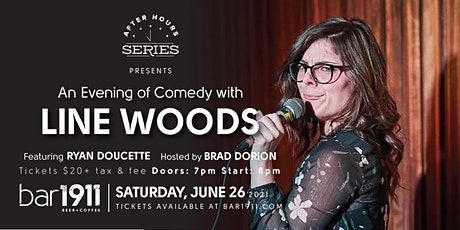 An Evening of Comedy with Line Woods tickets