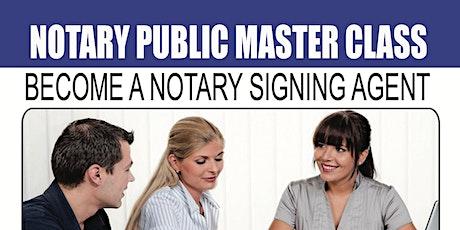 NYS Notary Public Master Class tickets