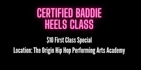 Certified Baddie x Heels Class San Diego tickets