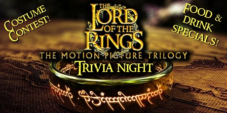 Lord of the Rings Trivia Night! tickets