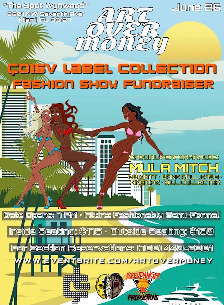 Art Over Money - Miami's Charitable Fashion Show image