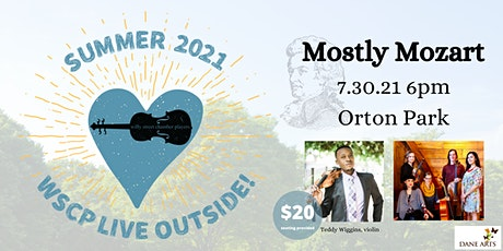 Willy Street Chamber Players: Mostly Mozart LIVE OUTSIDE tickets