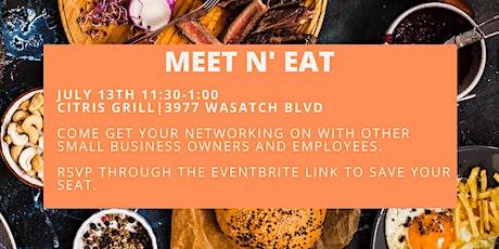 Meet n' Eat tickets