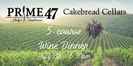 Prime 47 -  Cakebread Cellars Wine Dinner tickets