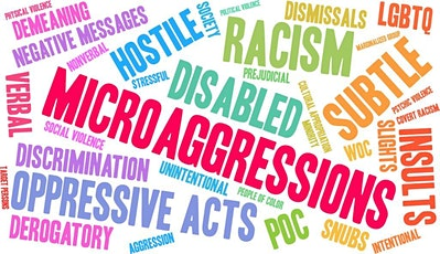 To Speak or How to Speak, That is the Question: Addressing Microaggressions tickets