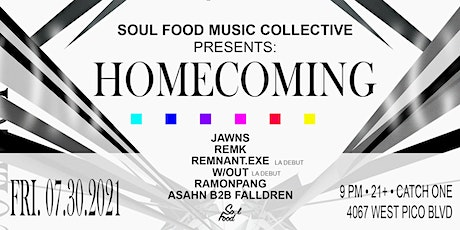 Soul Food Presents: Homecoming tickets