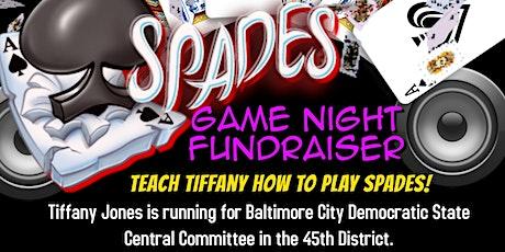 Spades Game Night Fundraiser to Support Tiffany Jones tickets