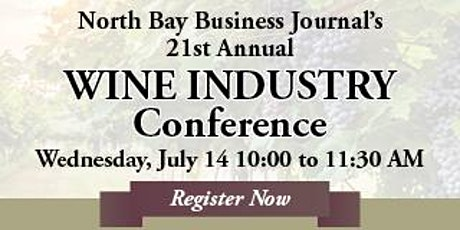 Wine Industry Virtual Conference tickets