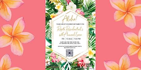 Repta Residential's Annual Luau tickets
