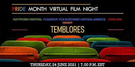 Pride Month Virtual Film Night | TEMBLORES (TREMORS) | Jayro Bustamante entradas