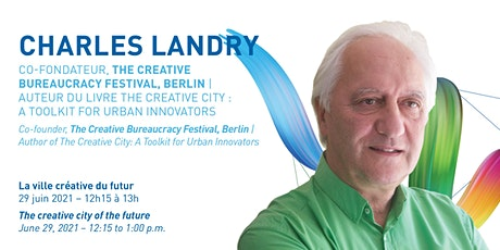 Conversation with Charles Landry billets