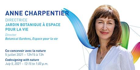 Conversation with Anne Charpentier billets