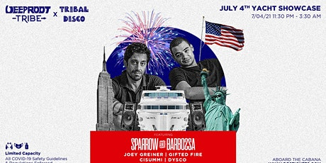 July 4th BOAT PARTY Tribe x Tribal Disco Yacht Cruise Ft Sparrow & Barbossa tickets