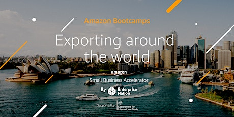 Amazon Bootcamp: Exporting around the world tickets