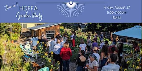 2021 HDFFA Garden Party (invitation only) tickets