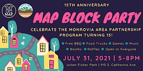 15th Anniversary MAP Block Party tickets