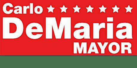 Mayor Carlo DeMaria Volunteer Meeting & BBQ tickets