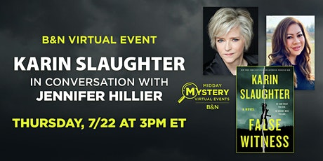 B&N Midday Mystery Presents: Karin Slaughter discusses FALSE WITNESS! tickets