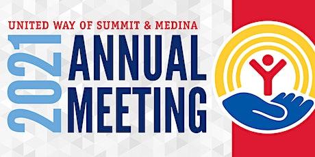 United Way of Summit & Medina Annual Meeting 2021 tickets