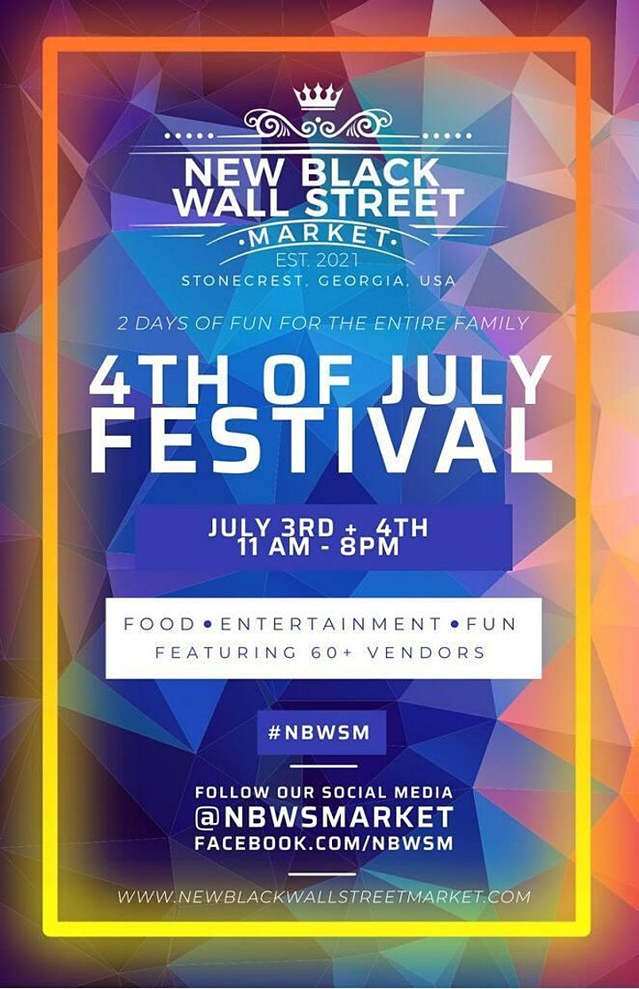 The New Black Wall Street Market 4th of July Celebration image