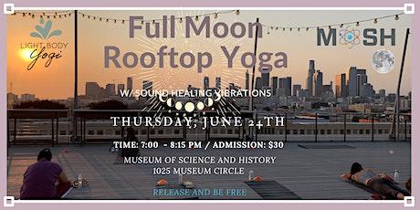 FULL MOON ROOFTOP YOGA tickets