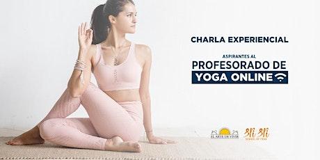 Charlas experienciales del Instructorado de yoga entradas