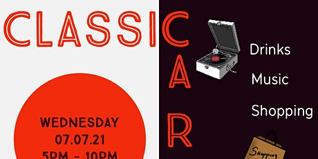 Classic Cars Pop Up tickets